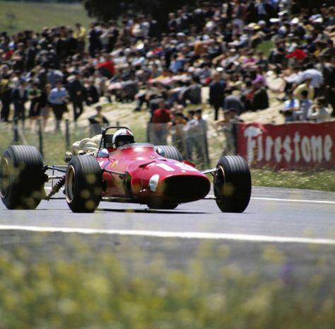 Ferrari 312  Chris Amon  Spanish Grand Prix 1968, Jarama