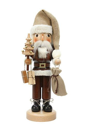 Nutcracker - Santa Claus Natural - 40,5 cm / 16 inch  plus shipping (Purchased 2017)