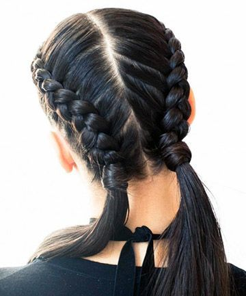 25 Pretty French Braid Hairstyles To Diy Cool Braid Hairstyles French Braid Hairstyles Boxer Braids Hairstyles