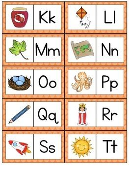 Letter Recognition and Letter Sounds Activities | Alphabet ...