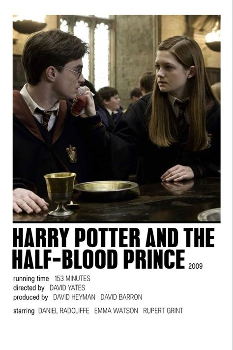 harry potter and the half blood prince by issy
