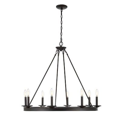 Safavieh Fauna 8 Light Oil Rubbed Bronze Black Rustic Chandelier Lowes Com In 2020 Chandelier Lighting Rustic Chandelier Chandelier