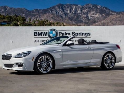 BMW Palm Springs >> Convertible 2017 Bmw 640i Convertible With 2 Door In Palm