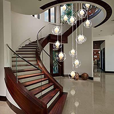 Amazon Com Mbd Duplex Apartment Spiral Stairs Long Chandelier