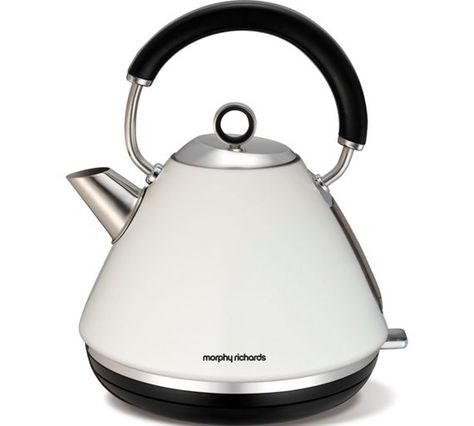 Buy Morphy Richards 102005 Accents Pyramid Kettle White At