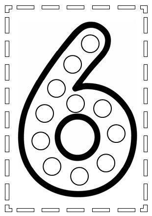 Le Chiffre 6 Numbers Preschool Preschool Math Games Learning
