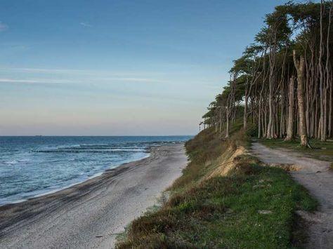 Auf Dem Ostseekustenradweg Von Wismar Bis Wogast Komoot Fahrrad Wander App Ostsee Wismar Reisen