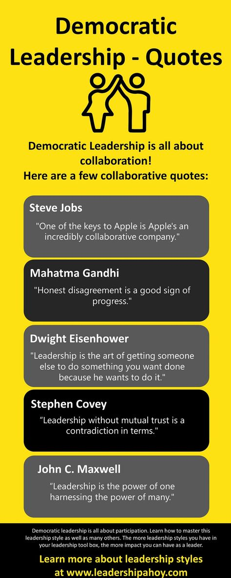 Funny Videos On Leadership Styles : funny, videos, leadership, styles, Democratic, Leadership, Style, Ideas, Leadership,, Quotes