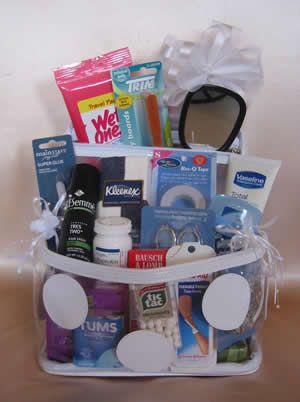 Wedding Day Survival Gift Basket