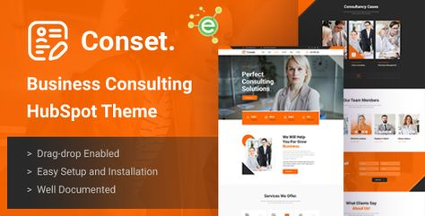 Conset — Business Consulting HubSpot Theme   Stylelib