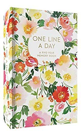Download Pdf Epub Floral One Line A Day A Five Year Memory Book