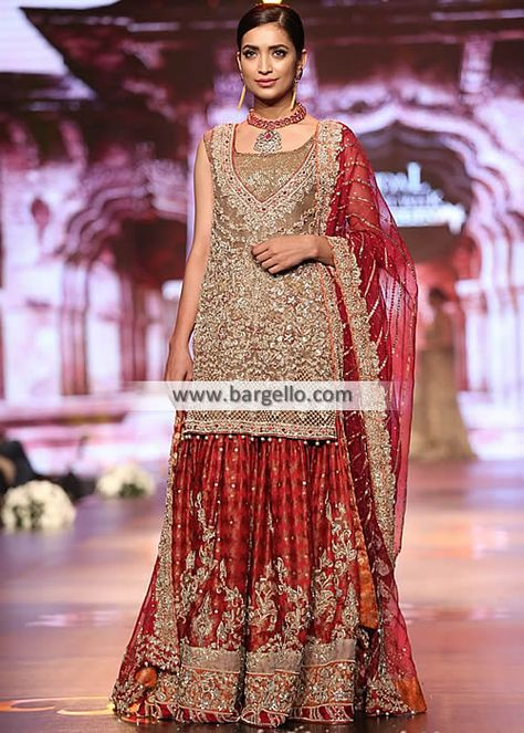 Pakistani Bridal Lehengas Banarasi Jamawar Bridal Lehnga Rapids Illinois US