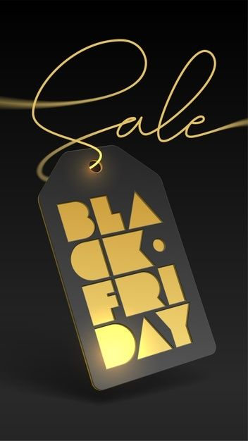 Price Tag And Gold Foil Letterpress For Black Friday Sale Gold Foil Letterpress Foil Letterpress Poster Making