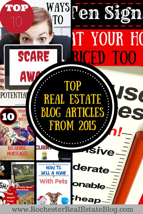 Top Real Estate Blog Articles From 2015