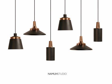 Suspension En Cuivre Copper By Namuh Studio Lampe Design Suspension Luminaire Et Lumiere De Lampe