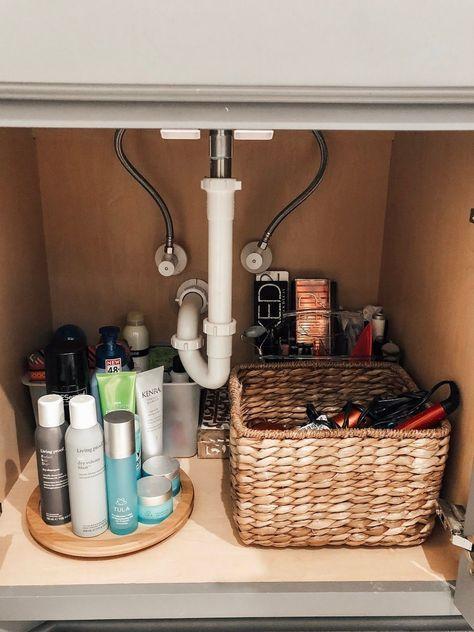 23+ Bathroom cabinet organizer ideas best