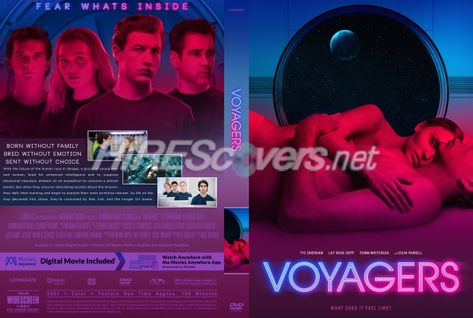 DVD Cover Custom DVD covers BluRay label movie art - DVD CUSTOM Covers - V / Voyagers (2021)