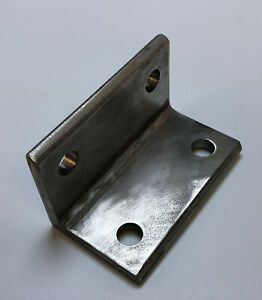 Stainless Steel Angle Bracket 2 3 8 X 2 3 8 X 4 Long And 5 16 Thick Ebay Stainless Steel Angle Angle Bracket Steel