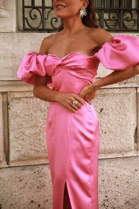 Elegant Dresses, Pretty Dresses, Beautiful Dresses, Formal Dresses, Wedding Guest Dresses, Spring Dresses Casual, Dress Summer, Cute Simple Outfits, Mode Lookbook