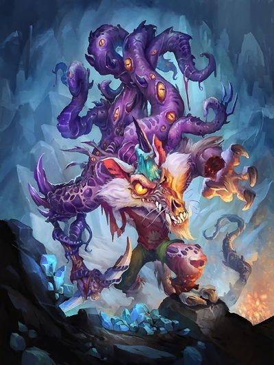 Evolved Kobold - Hearthstone Wiki | HS - 02 Year of the