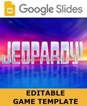 Jeopardy Game Template | Group Study | Jeopardy game