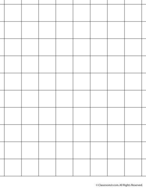 1 Inch Grid Paper Woo Jr Kids Activities In 2021 Grid Paper Printable Graph Paper Grid Paper Printable