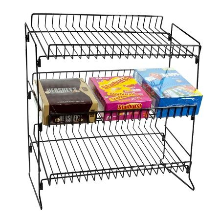 Countertop Candy Display Wire Rack Countertop Candy Rack In