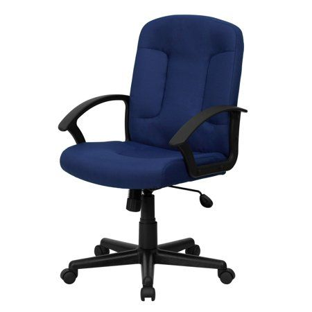 Flash Furniture Mid Back Task Office And Computer Chair Walmart Com Flash Furniture Chair Chair Fabric