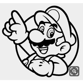 Vitor Arts Youtube Mario Coloring Pages Super Mario Tattoo Mario Art