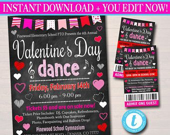 List Of Pinterest Sweetheart Dance Flyer Valentines Day Pictures