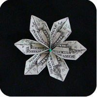 Money origami flower crafts pinterest origami money flowers money flower mightylinksfo Images
