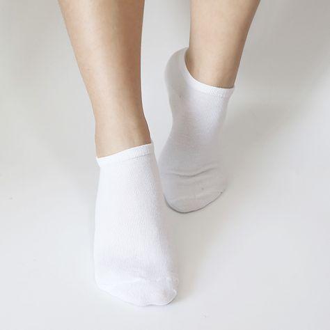 96c9c6e0c 7Pair Women s Socks Summer Solid Thin Short Female Low Cut Ankle Socks  Short Ladies Invisible Boat Socks For Women Black White  Affiliate