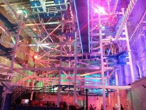 It Adventure Indoor Ropes Course New Haven Ct Located In The