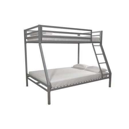 Premium Twin Over Full Metal Bunk Bed Full Bunk Beds Metal Bunk