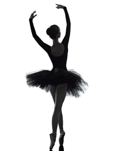 Elegance Ballet Dancer White and Black Poster Print on Canvas 3 Piece Wall Art for Living Room Decor Office Artwork Drop Ship