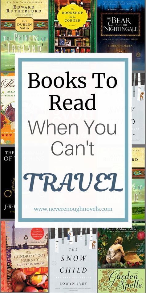 Wanderlust Books To Inspire Travel - Never Enough Novels