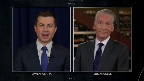 Mayor Pete Buttigieg Real Time With Bill Maher Hbo In 2020 Hbo Bill Maher