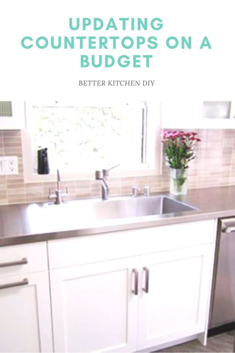 Updating Countertops  on a Budget