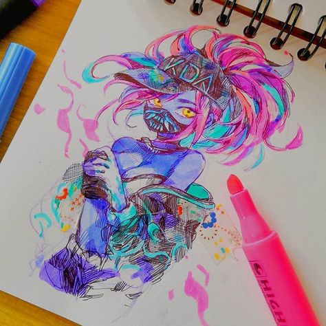 Fantasting Drawing Hairstyles For Characters Ideas. Amazing Drawing Hairstyles For Characters Ideas. Sketchbook Drawings, Cute Drawings, Sketches, Pen Doodles, Hipster Art, Cute Art Styles, Marker Art, People Art, Art Challenge