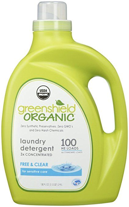 Green Shield Organic Usda Certified Free And Clear Laundry