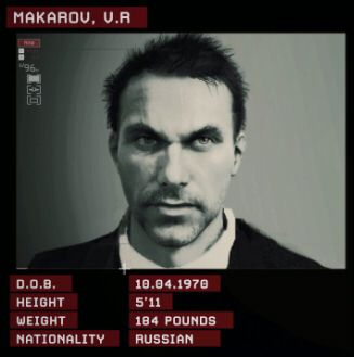 Vladimir Makarov in mw2&3