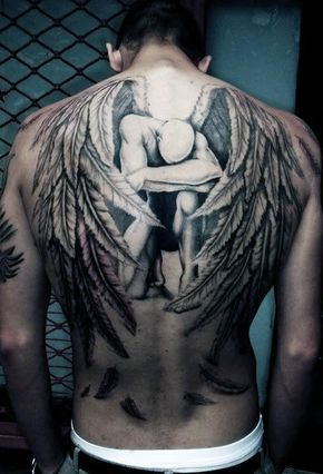 Top 53 Back Tattoo Ideas 2020 Inspiration Guide Back Tattoos For Guys Angel Tattoo Men Cool Back Tattoos