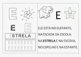 Atividades Dos Anos Iniciais Alfabeto 1º Periodo Alfabeto