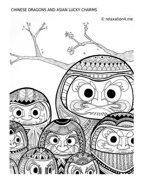pin auf free antistress adult coloring book printables