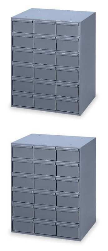 Tool Boxes 33089 Durham 006 95 Drawer Bin Cabinet 11 5 8 In D
