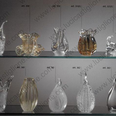 N°1 fiore a campanella ricambio in vetro di murano,. Ricambi Per Lampadari In Vetro Soffiato Di Murano By Lucicastiglione Con Immagini Lampadari