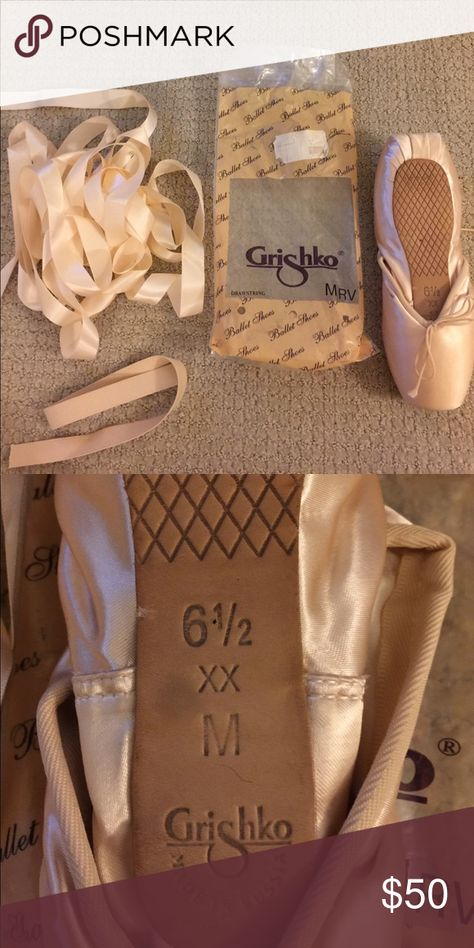 Grishko Ribbon and Elastic For Pointe Shoes
