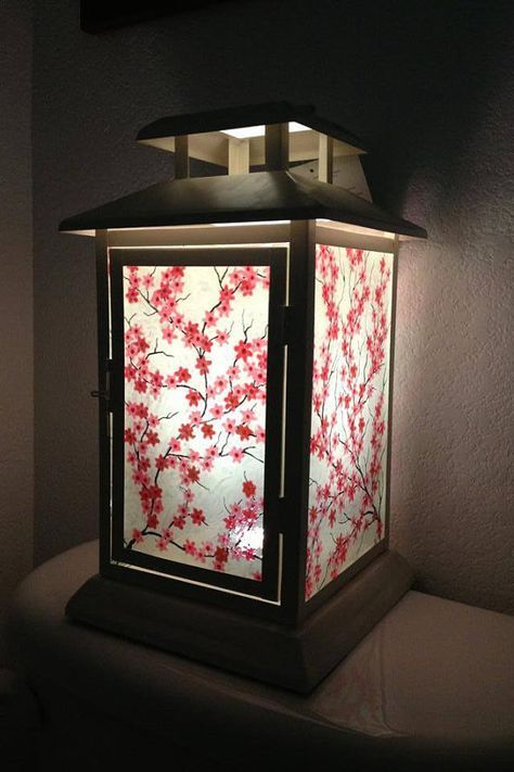 Romantic Cherry Blossom Lantern Etsy Cherry Blossom Bedroom Cherry Blossom Decor Home Decor
