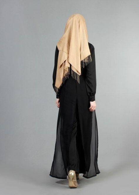 T 52413 Fy Collection Boncuk Islemeli Pantolonlu Abiye Tulum Siyah Trend T T Tesettur Abiye Modelleri 2020 2020 Basortusu Modasi Giyim Moda Stilleri