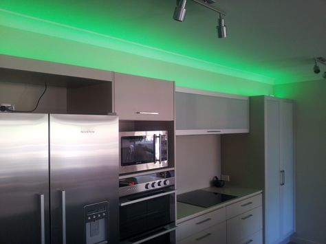 Made to measure led lights from stefano orlati kitchen led lighting pinterest downlights led strip lighting and downlights